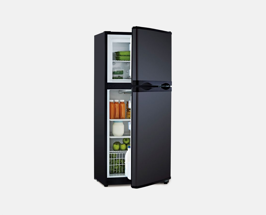 Bushman Upright DC Fridge DC190L-X Black