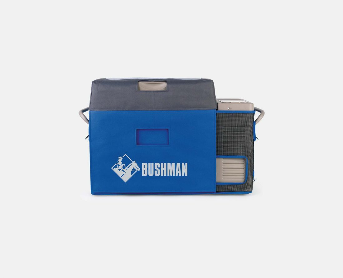 Bushman Fridges Transit Cover in Blue